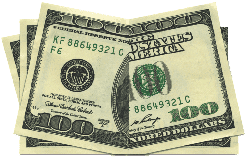 100 dollar bill drop card template - design zone we design bill board drop cards