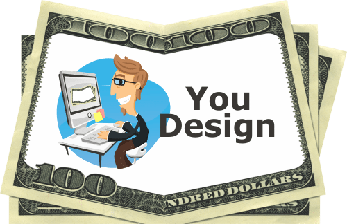 Drop Card Online Money Designer - Previous one hundred dollar style